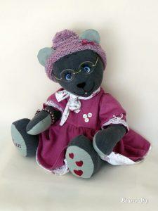 Dressed memory bear