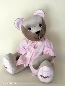 Memorybear with shirt