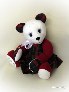 Schooluniform keepsake bear