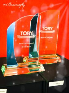 the Toby award